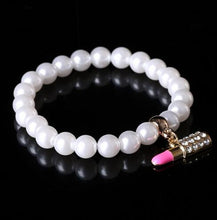 Load image into Gallery viewer, White Pearl Bracelet Women
