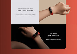 IN STOCK 2019 New Original Xiaomi Mi Band 3 Smart Bracelet Black