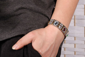 Wrist Band Magnetic Bracelet Men