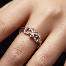 Load image into Gallery viewer, Heart Jewelry Rings Fashion Crystal Engagement Ring Wedding Ring for Women