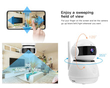 Load image into Gallery viewer, IP 1080P Wireless WI-FI Home Security Camera, Baby Monitor