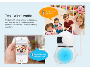 IP 1080P Wireless WI-FI Home Security Camera, Baby Monitor