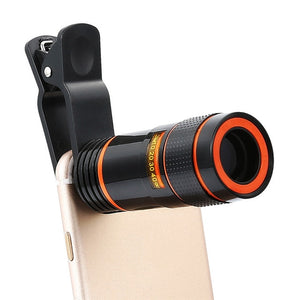 12x Optical Phone Telescope Camera Lens for Smartphone