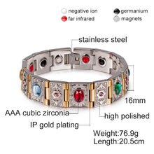 Load image into Gallery viewer, Wrist Band Magnetic Bracelet Men
