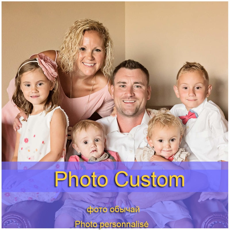 Photo Custom Painting on Canvas Oil Pictures Your Photo