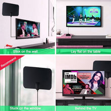 Load image into Gallery viewer, 50 Miles High Gain HD TV DTV Box Digital TV Antenna