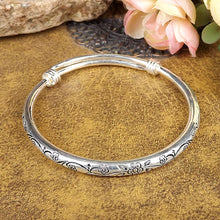 Load image into Gallery viewer, NEW Gypsy Bohemian Vintage Retro Silver Bangles Bracelet