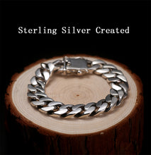 Load image into Gallery viewer, Luxury 925 Sterling Silver Bracelet Men