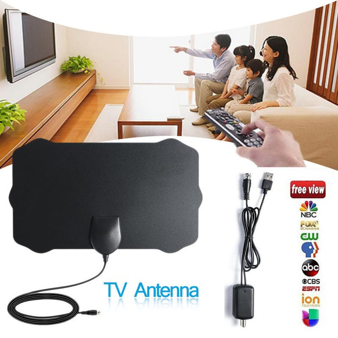 120 Miles TV Antena 1080P Digital HDTV Indoor With Amplifier