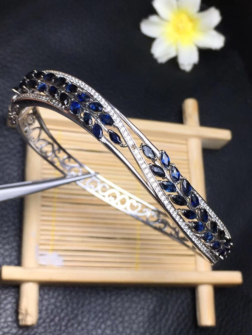 The latest design of Natural Sapphire Bracelet