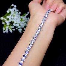 Load image into Gallery viewer, Fashion Natural blue tanzanite Bracelet