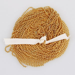5m/lot 1.5mm Metal Ball Bead Chains 7Colors