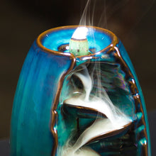 Load image into Gallery viewer, 3 Color Backflow Incense Burner Ceramic Aromatherapy Furnace