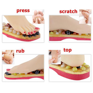 1pair Foot Massage Sandals