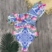 Load image into Gallery viewer, Sexy One Piece Swimsuit Women 2019 Summer
