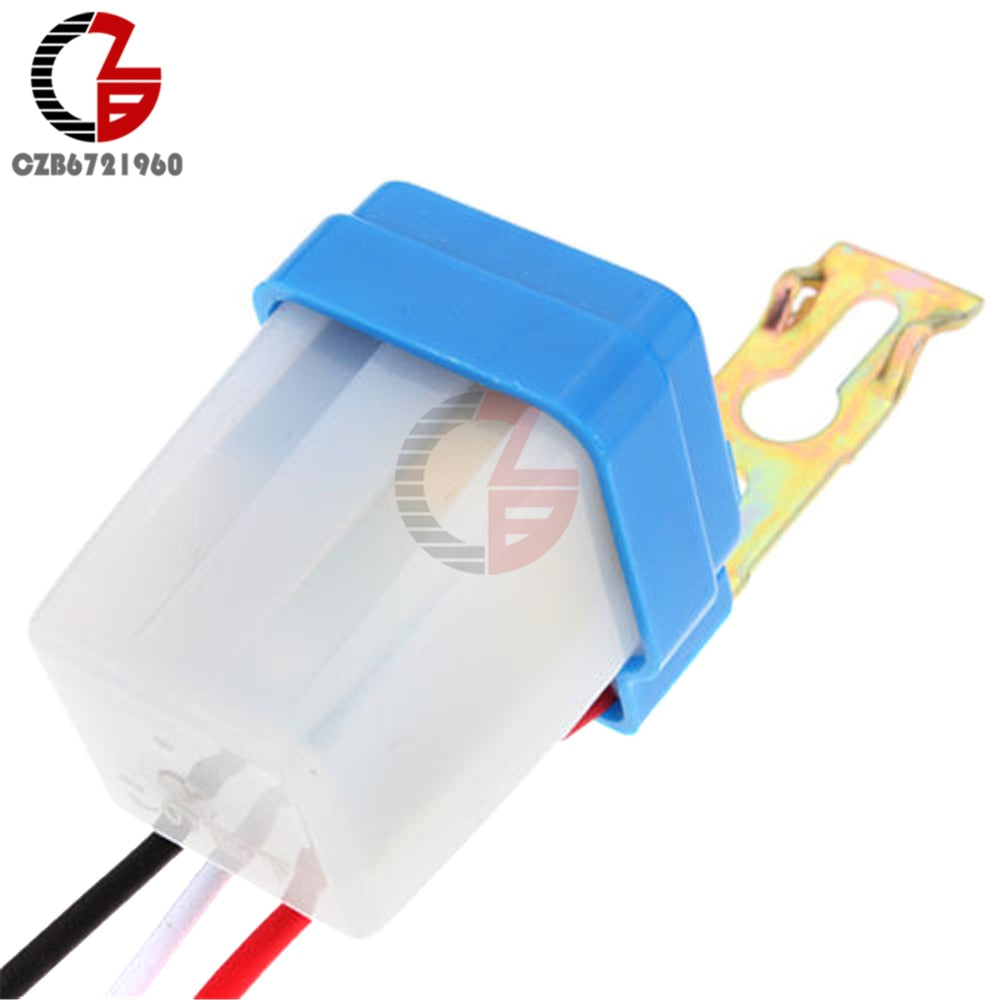 Newest Auto On Off Switch Control 12v 10a Street Light Photocell