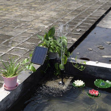 Load image into Gallery viewer, Solar Power Panel Landscape Pool Garden Fountains Solar Water Pump