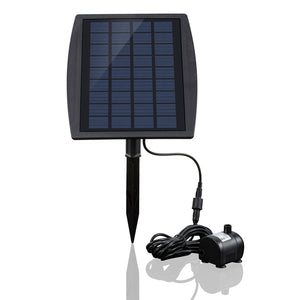Solar Power Panel Landscape Pool Garden Fountains Solar Water Pump