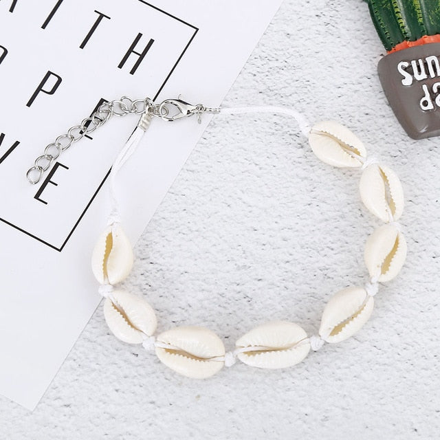 SeaShell Anklet For Women Foot Jewelry