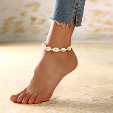 Load image into Gallery viewer, SeaShell Anklet For Women Foot Jewelry Summer 2019