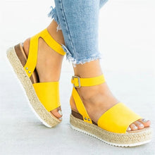 Load image into Gallery viewer, Wedges Shoes For Women High Heels Sandals 2019