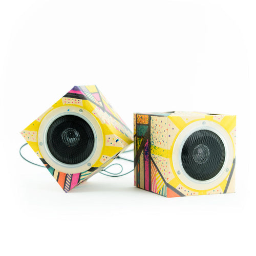 Cardboard Speakers 'Design Out Loud'