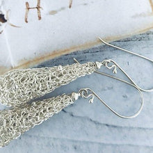 Load image into Gallery viewer, Wired Sterling Silver Sunri Earrings
