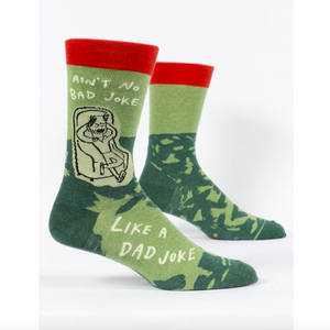 Ain't No Bad Joke Like a Dad Joke - Crew Socks