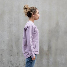 Load image into Gallery viewer, Pocket Sweatshirt Logo - Lilac