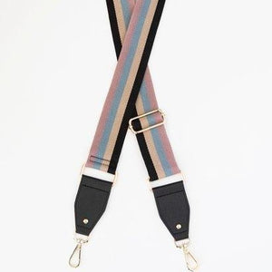 Stripe Bag Strap + Colours