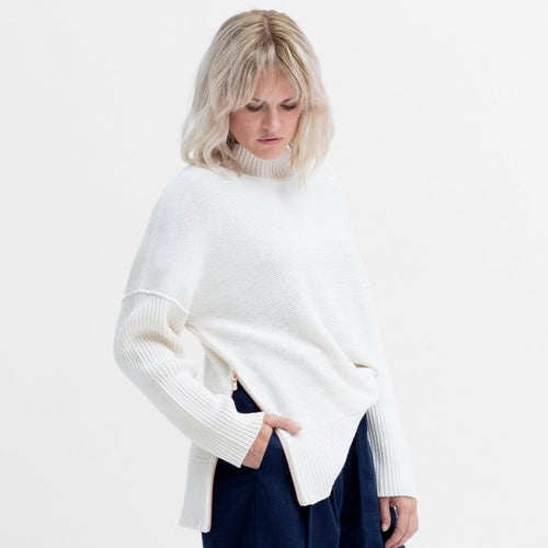 Eryka Sweater - White