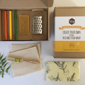 Create Your Own Reusable Food Wrap