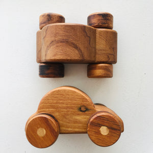 Small Wooden Car