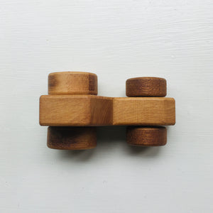 Wooden Small Tractor