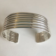 Load image into Gallery viewer, Sterling Silver Banded Cuff