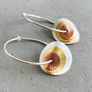 Trio Globe Earrings