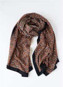 Cheetah Print Scarf + Colours