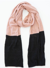 Load image into Gallery viewer, Two Tone Scarf + Colours