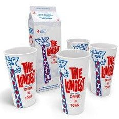 Longest Drink in Town Milkshake Cup Set