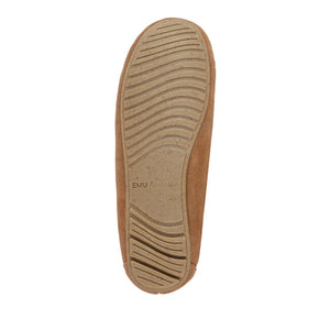 Amity Moccasin Slipper -  Chestnut