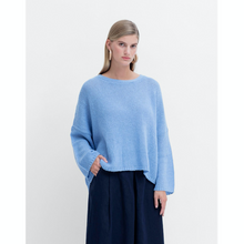 Load image into Gallery viewer, Agna Sweater - Powder Blue