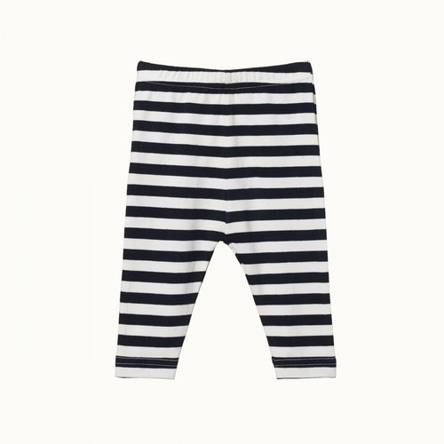 Baby Leggings - Navy Sea Stripe
