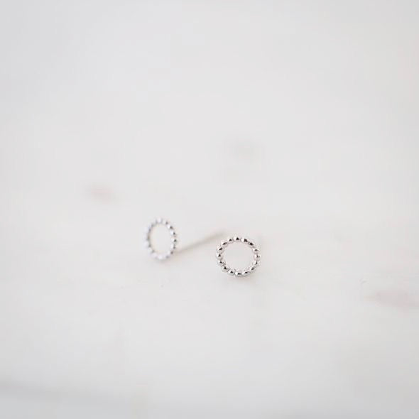 Dotty Oh Studs - Gold & Silver
