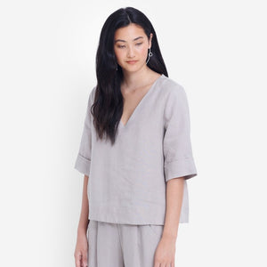 Ilona Top - Flax
