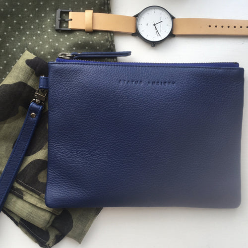 Fixation Wallet, Status Anxiety, Blue