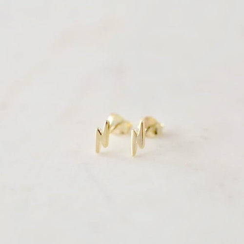 Flashy Studs - Gold & Silver