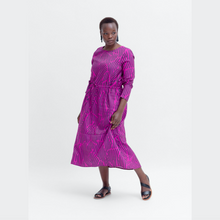 Load image into Gallery viewer, Fraja Dress - Magenta/Midnight