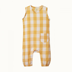 Gingham Cedar Suit - Honey Check