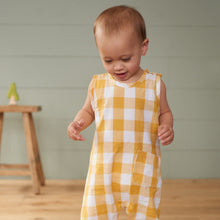Load image into Gallery viewer, Gingham Cedar Suit - Honey Check