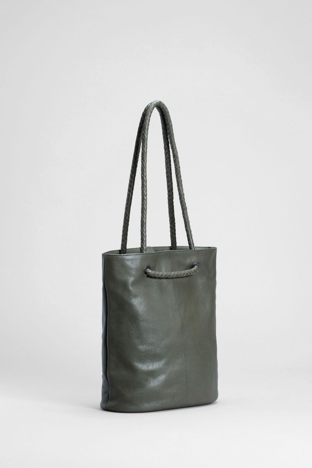 Hede Tote - Green & Black